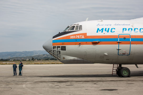 Русия изпрати 40 тона хуманитарна помощ в Ирак