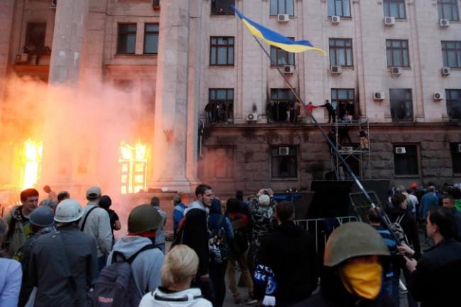 Руски гражданин се озовал в центъра на сблъсъка  в Одеса на 2 май