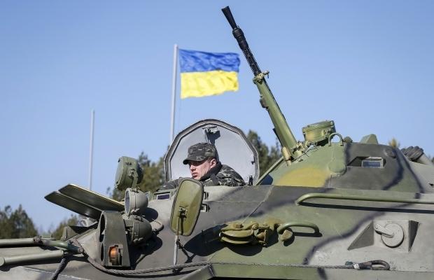 Украинските военнослужещи са приведени в усилен режим