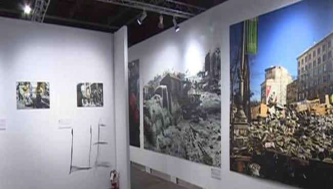 В Ню Йорк разгромиха фотоизложба със снимки от Украйна