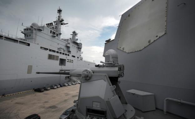 """Франция предава бойния кораб """"Мистрал"""" на Русия"""