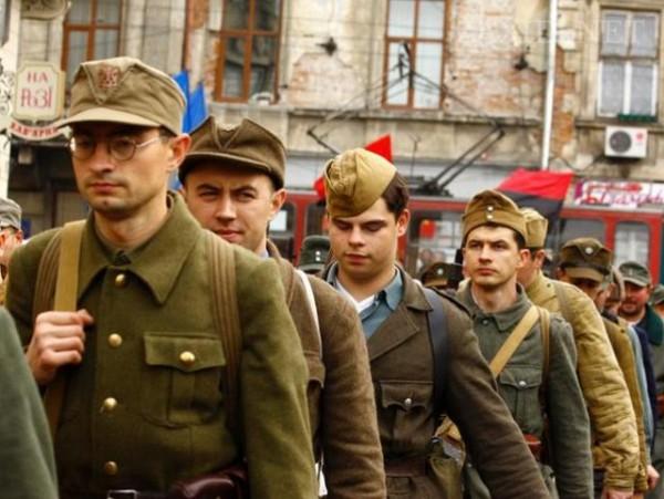 Нацисти в Лвов отбелязаха 72-рата годишнина от създаването на Украинската бунтовническа армия