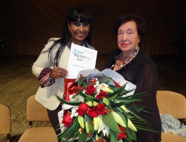 Български журналист  с награда от Сибир