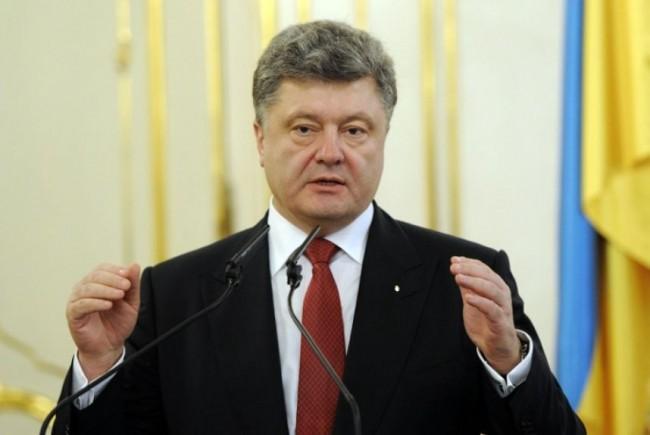 В Словакия освиркаха Порошенко