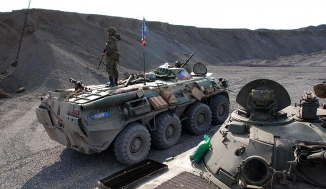 Засечената от ОССЕ колона е на опълченците