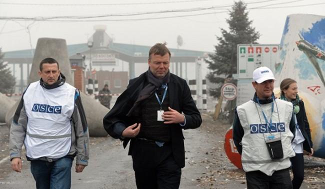 Обстреляха представители на ОССЕ в Украйна