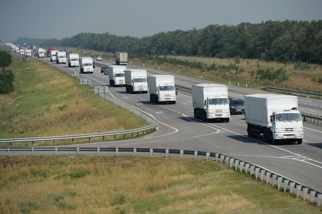 От Русия тръгва седми конвой с хуманитарна помощ за Донбас