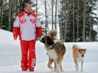 Путин: Колкото повече опознавам хората, толкова повече обиквам кучетата