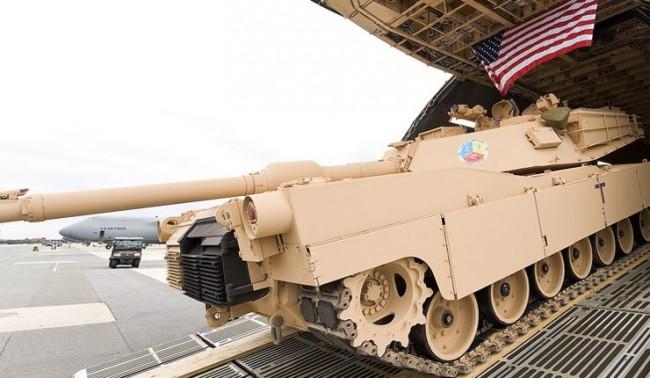 САЩ изпращат бронирана техника в Източна Европа