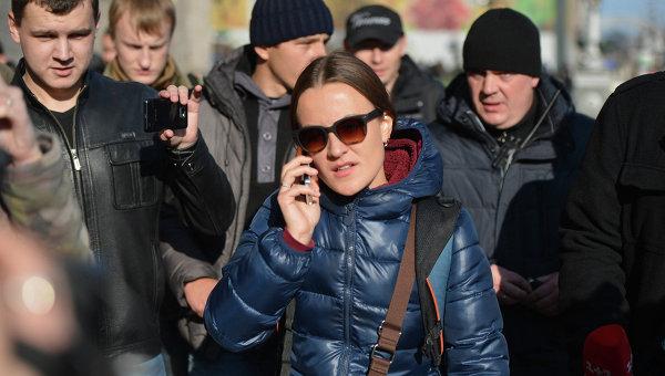 В Киев пребиха журналистка от руска медия