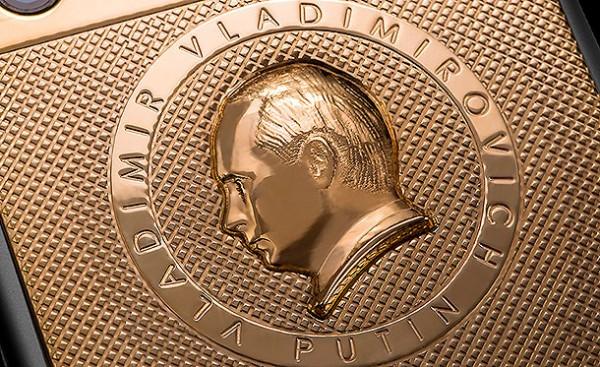 Caviar представи златен iPhone 6 с лика на Путин