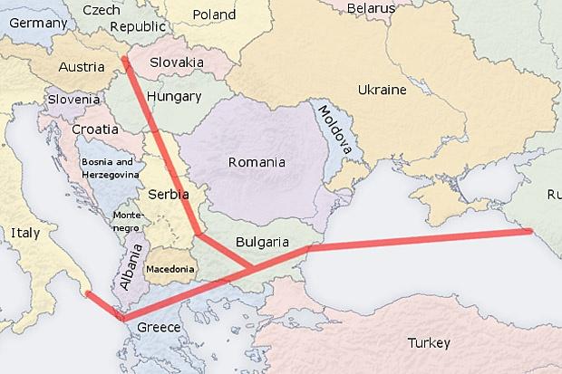 """""""Газпром"""" започва строителството на """"Южен поток"""" през декември"""