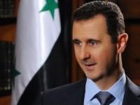 Асад: Сирия гледа положително на усилията на Русия да намери мирен път за излизане от кризата