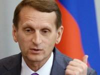 Наришкин: на Запад знаят, че Русия е права