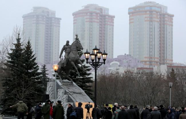 В Москва откриха паметник на ген. Скобелев