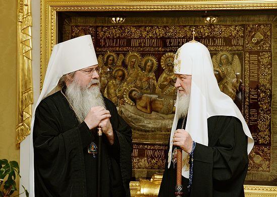 Патриарх Кирил: Под ударите на украинската артилерия се рушат православни храмове
