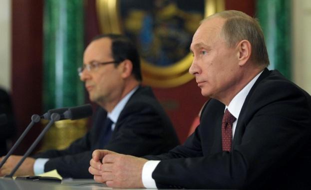 Оланд: Русия и Франция ще намерят решение на украинската криза
