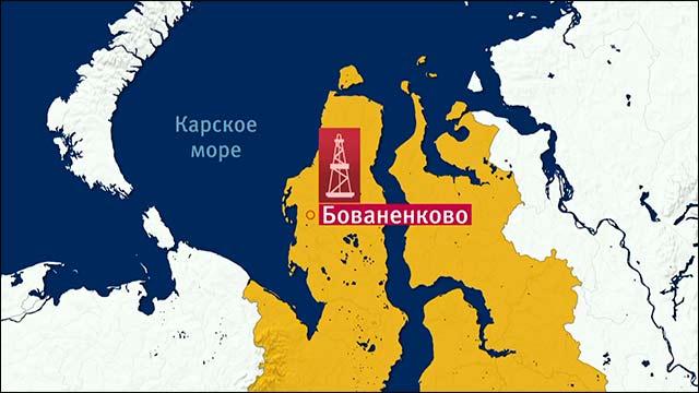 Путин стартира голямо газово находище на Ямал