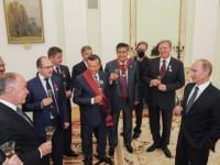 Путин ще посрещне 2015 сред близки и приятели