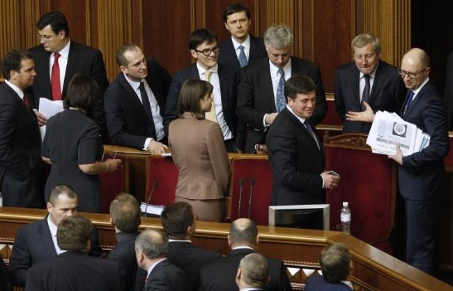 Руски език стана работен в правителството на Украйна