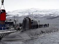 Най-новата руска подводница тества спасителна капсула