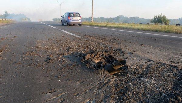 """Украинската армия продължава обстрела въпреки """"режима на тишина"""" в Донецк"""