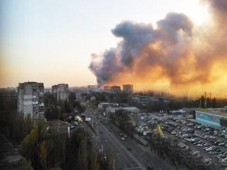 Мощен взрив избухна в Одеса