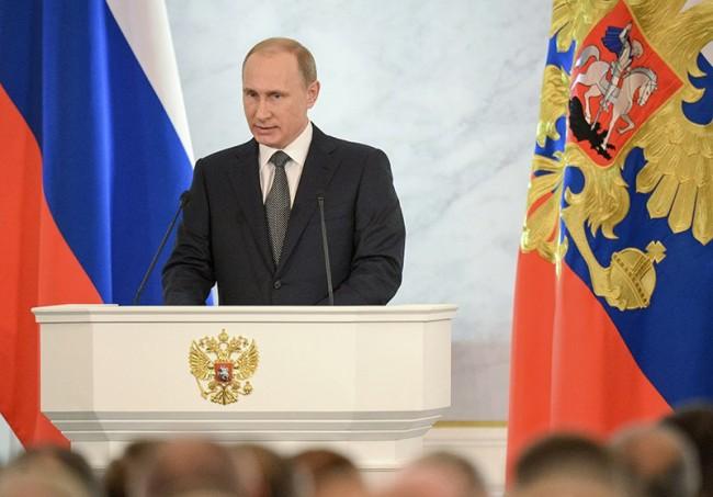 Ежегодното послание на президента на Русия до Федералното събрание