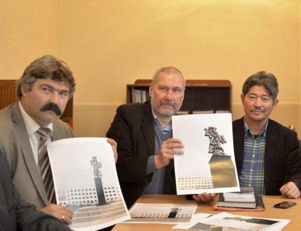 """Паметник на """"Кирилицата"""" за 24 май в Монголия"""