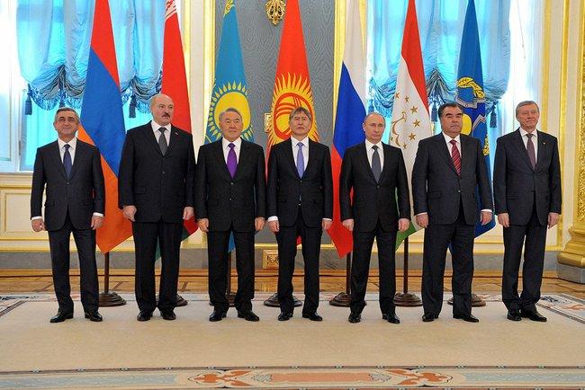 Евразийския съюз започва да функционира от 1 януари 2015г.