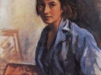 Женски портрет – принцесата на  руския  модерн Зинаида Серебрякова