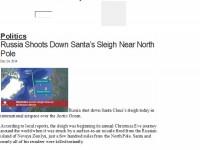Вест от US-медии: Руска ракета уби Дядо Коледа