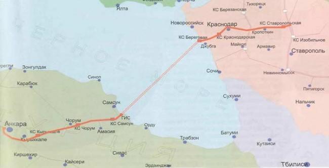 Русия и Турция се договориха за нов газопровод