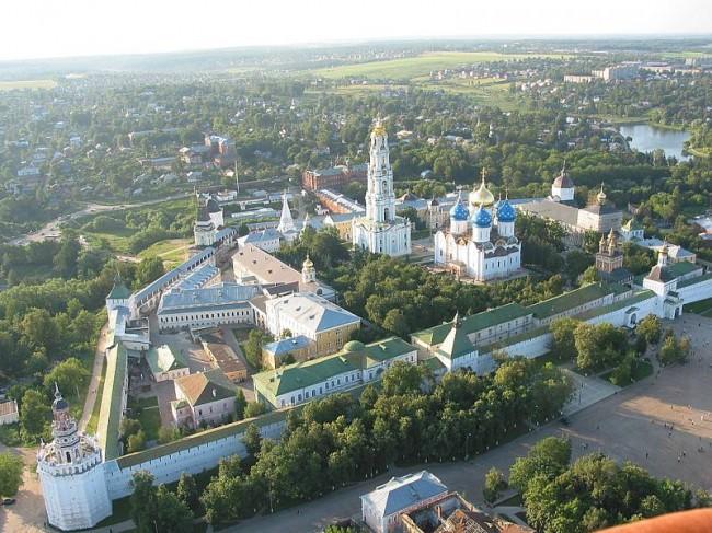 Десетте най-стари градове на Подмосковието – Сергиев Посад