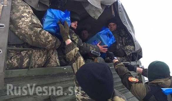 В навечерието на Рождество опълченците и украинските военни си размениха подаръци