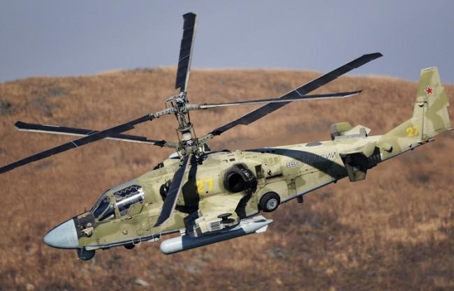 Източен военен окръг на Русия ще получи 22 хеликоптера Ка-52