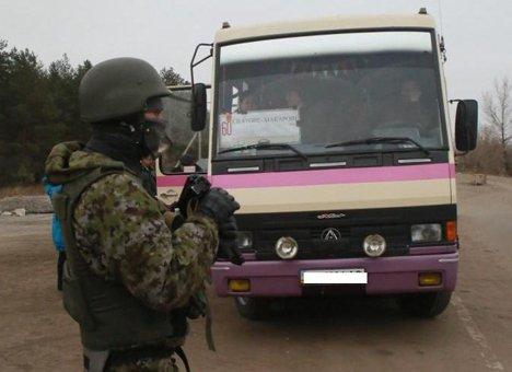 Киев спира автобусите за Донбас