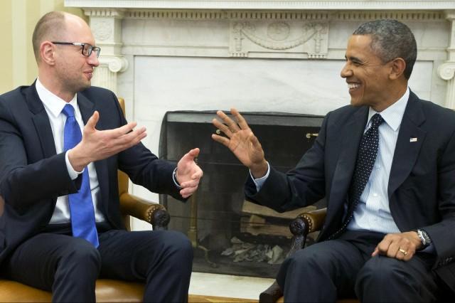 Маските на Обама и свлачището Украйна