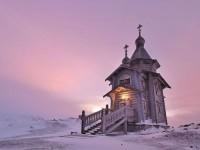 Моряците от Северния флот на Русия посрещнаха Рождество в нов параклис