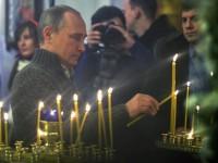 Путин поздрави православните християни по случай Рождество Христово