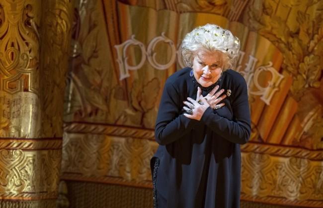 Москва изпрати в последния й път великата оперна певица Елена Образцова