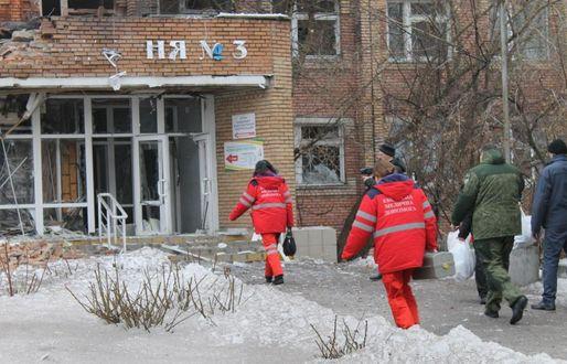 Украинската армия обстреля болница в Донецк, има ранени