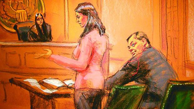 Буряков (вдясно) пред нюйоркския съд
