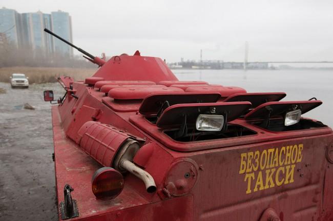 Бронираното такси на Санкт Петербург