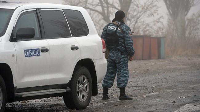 OССЕ: По границата между Украйна и Русия не е преминавала военна техника