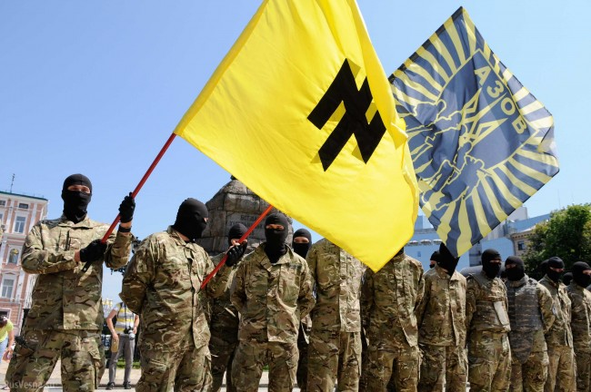 """Командирът на украинския полк """"Азов"""" призна, че войната е загубена"""