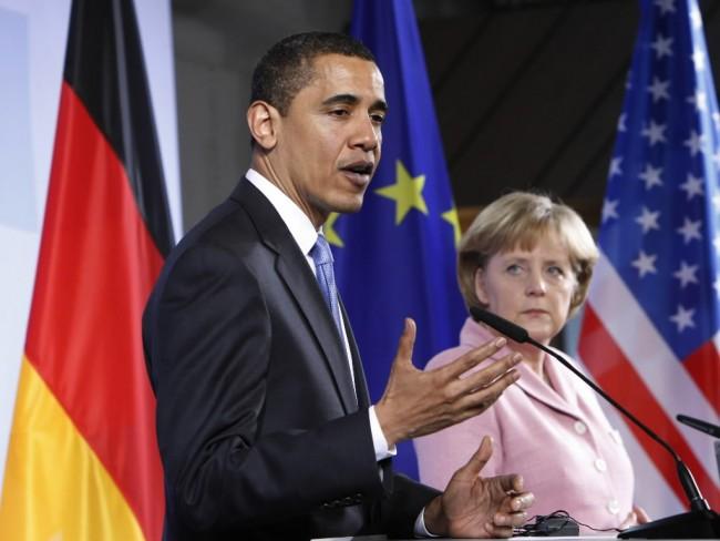 Обама и Меркел са обсъдили ситуацията в Украйна