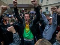 Българи в Одеса на бунт срещу войната и насилствената мобилизация (видео)