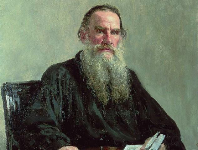 Портрет на писателя Л.Н.Толстой. Иля Репин.