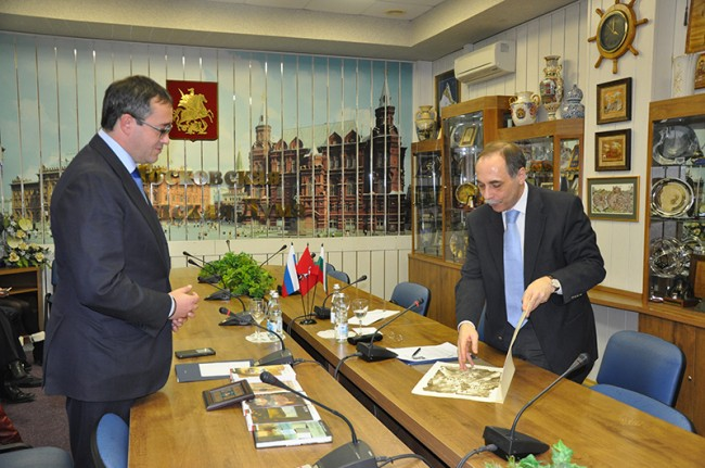 Бойко Коцев се срещна с председателя на Московската градска дума